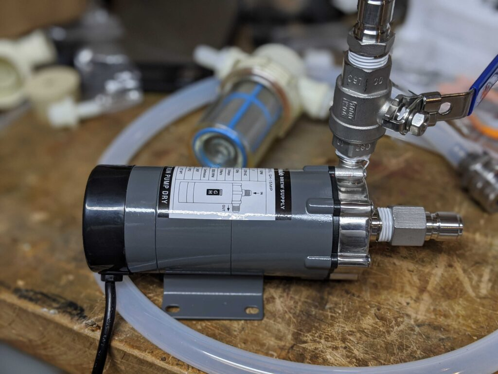 Gile House Brew Supply Pump